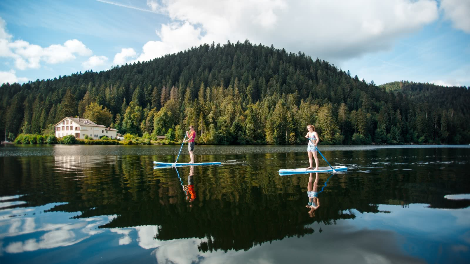 Gérardmer - Stand up Paddle Lac